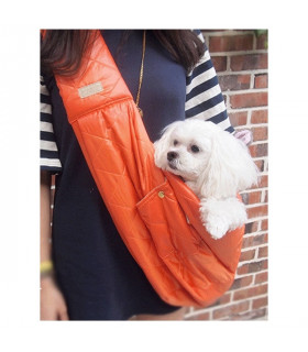 Sac Sling Padding Orange Amylovespet