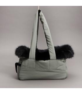 Viva Bag / Fur n' Velvet Kaki Louisdog