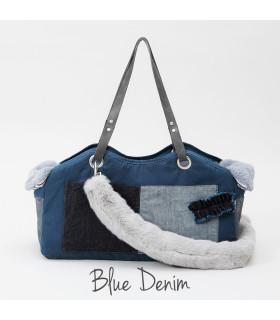 Tosho Bag Fur Blue Denim Louisdog