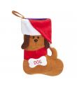 AH924/ Chaussette de Noel pour chien Camon