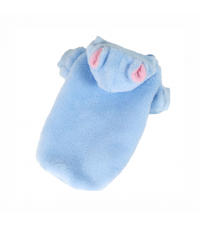 Sweat à capuche Doudou bleu O'lalapets