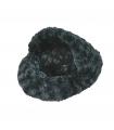 Panier Chausson Fuzzy Pour Rongeur Noir O'lalapets