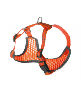 Harnais d'été fluo ultra respirant Orange 3043 Record