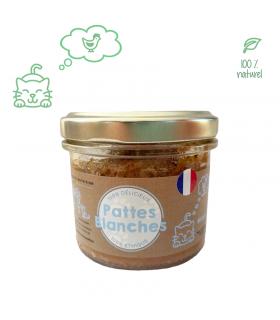 Terrine Gourmet Au Poulet pour chat Pattes Blanches