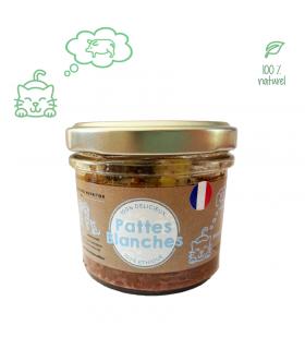 Terrine Gourmet Au Porc pour chat Pattes Blanches