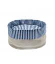 T1080 Corbeille Sabbia à rayures bleu Ferribiella