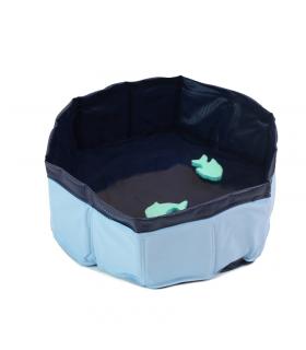 Piscine pour petit chien et chat avec jouet Croci