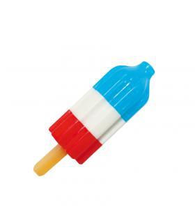 Jouet Glace Fusée Tricolore Rafraichissante pour chien Croci