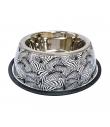 Gamelle en Metal motif Zebre Croci