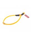 HI720 Collier Rond en Silicone Orange Fluo Ferribiella