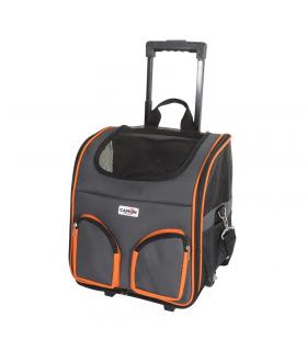CA604/A Trolley gris liseret orange Camon