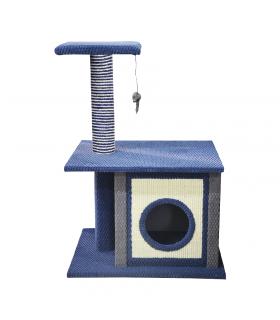 GTT162 Arbre à chat avec cabane Notte Ferribiella
