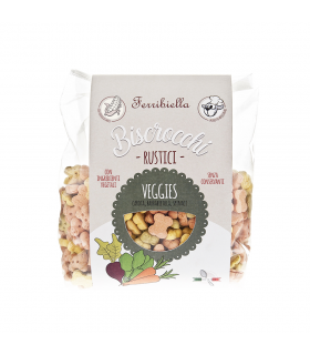 BIS13 Biscuit Naturel Veggies Ferribiella