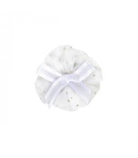 HP7382 Barrette Kloe Pinkaholic White