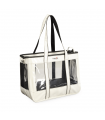 CA618/A Sac de Transport transparent et Vernis Blanc Camon