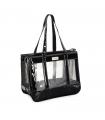 CA618/A Sac de Transport transparent et Vernis Noir Camon