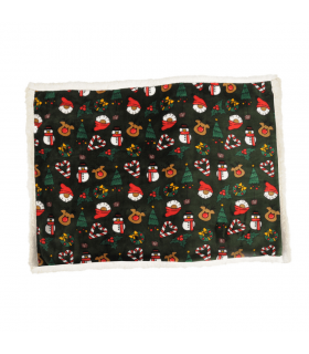 AH943 Plaid de Noel Douceur Camon