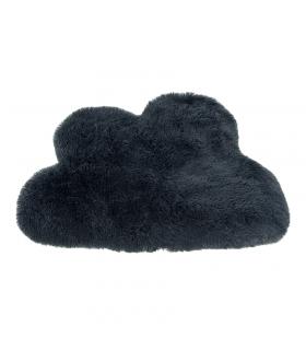 T1095 Tapis Nuage en fausse fourrure Anthracite Ferribiella