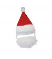 Bonnet avec Barbe du Père Noel Croci