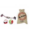 Pack de Jouet de Noel pour chien Croci