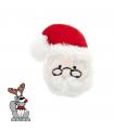 TP1073 Jouet Tête de Père Noel Pour Chat Ferribiella
