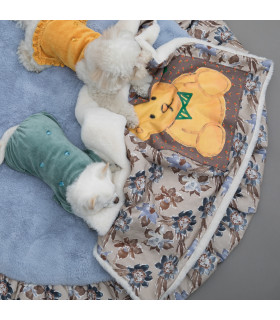 Couverture Honey Bear Blancket Jimi Flowers Louisdog