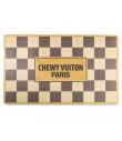 HDD-207 Set de Table Checker Chewy Vuiton Haute Diggity Dog