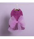 Robe en velours Lilas Velvety Big bow dress Louisdog