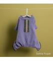 Jogging Velvety Romper Dahlia Purple Louisdog