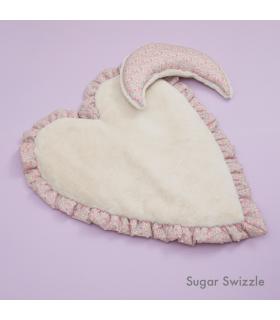 Tapis Coeur Liberty N Eco Fur Heart Rug Sugar Switzzel Louisdog