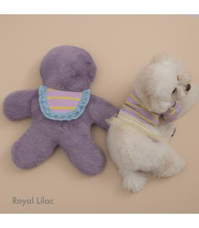 Oreiller Doudou Sweet Eater Crystal Blue Louisdog Oreiller Doudou Sweet Eater Royal Lilas Louisdog
