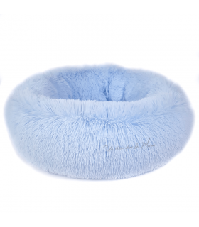 Panier Douillet en fausse fourrure Bleu Adèle O'lalapets