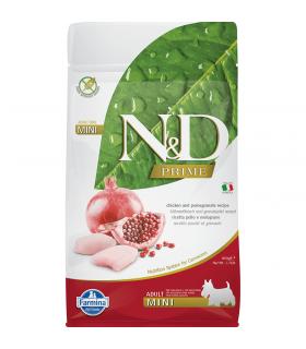 Croquettes N&D sans céréales Saveur Poulet /Grenade Adulte Mini Farmina