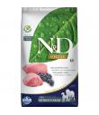Croquettes N&D Prime sans céréales Saveur Agneau /Myrtille Adulte Medium et Maxi Farmina