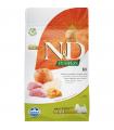 Croquettes N&D Potiron Sans Céréales Saveur Sanglier /Pomme Adulte Mini Farmina