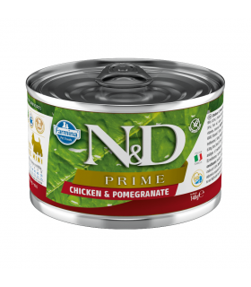 Repas Complet N&D Prime Saveur Poulet /Grenade Chiot Farmina