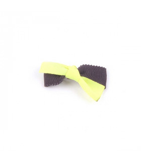 Barrette Monchouchou Kiki Ribbon Yellow