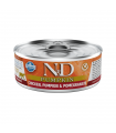 Repas Complet N&D Potiron Saveur Caille /Grenade Chat Adulte Farmina