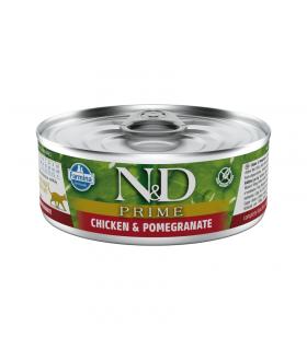Repas Complet N&D Prime Saveur Poulet /Grenade Chaton Farmina