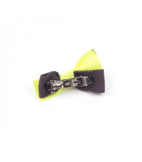 Barrette Monchouchou Kiki Ribbon Yellow