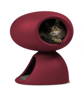 SG5202-BX Niche Design 2 En 1 Bordeaux Pour Chat United Pets