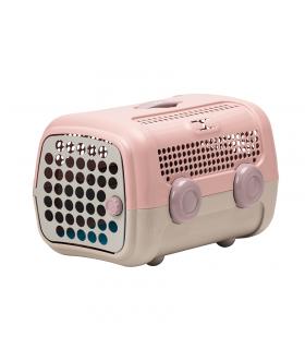 TP6001-RG Cage de Transport Rose et Grise United Pets