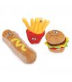 AH4127 Jouet pour chien Fastfood Camon