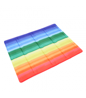 Tapis auto Rafraichissant Imprimé Rainbow Croci