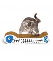 Griffoir en carton sardine pour chat 6156 Record