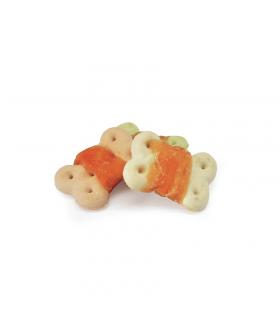AE010 Friandises biscuits avec lanière de poulet pour chien Camon