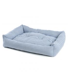 T1103 Panier à rayure bleu et blanche Shirt Ferribiella