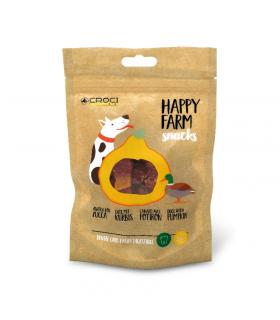 Friandises à la citrouille et au canard Happy farm Croci