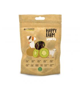 Friandises à l'agneau et au kiwi Happy farm Croci