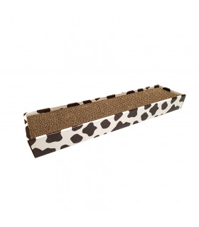 Griffoir en carton inprimé vache Croci